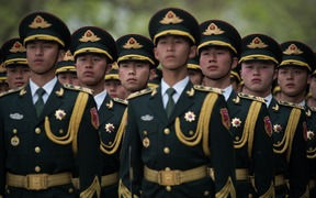 China's total military spending will account for about 1.3 percent of the country's projected GDP in 2017.