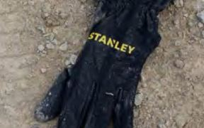 The glove was found at the scene of the investigation.