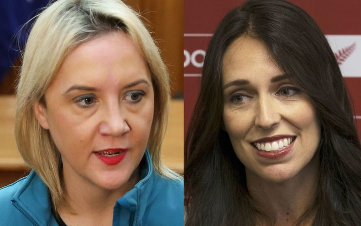 Nikki Kaye and Jacinda Ardern