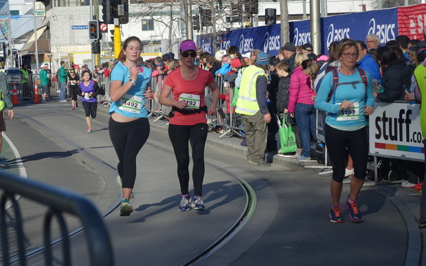 More than 5000 people took part in this year's Christchurch Marathon.