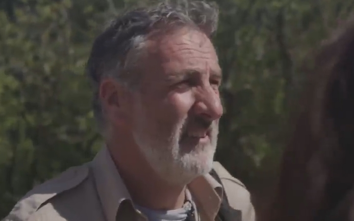 Phil Vine in a Greenpeace video about the proposed Ruataniwha dam.
