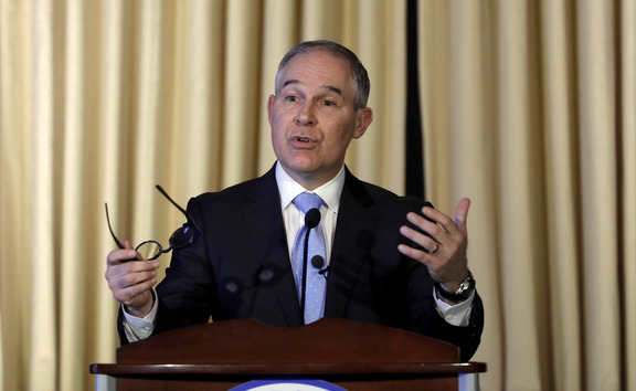 Chief of the US Environmental Protection Agency Scott Pruitt