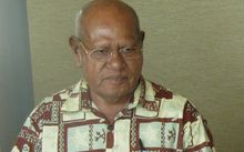 The President of Bougainville, John Momis