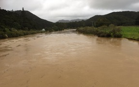 Flooding near Kaeo on 10 March 2017