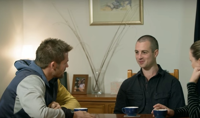 Richie McCaw talking to his relatives on the farm in Fonterra's 2016 campaign.
