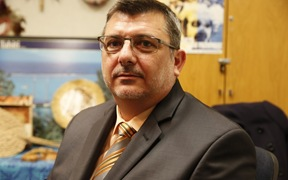 The President of New Caledonia's collegial government, Philippe Germain.
