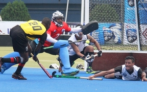 Fiji found it tough at the World Hockey League event in Bangladesh.