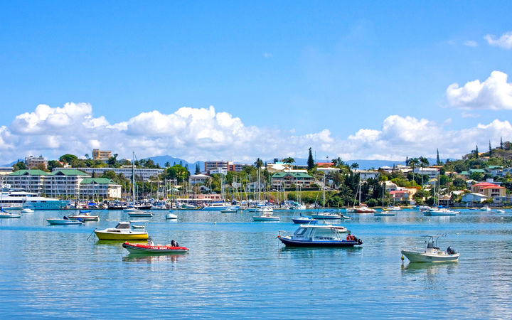 Noumea harbour, New Caledonia
