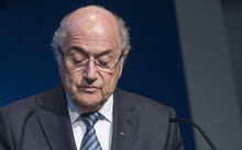 Sepp Blatter speaks at a news conference in Zurich on 2 June 2015.