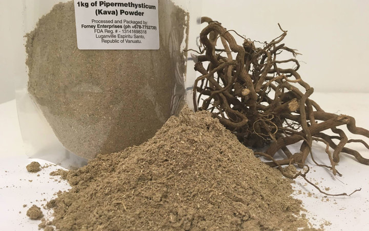 A noble variety kava blend packaged and ready for export by Forney Enterprise into the US market.