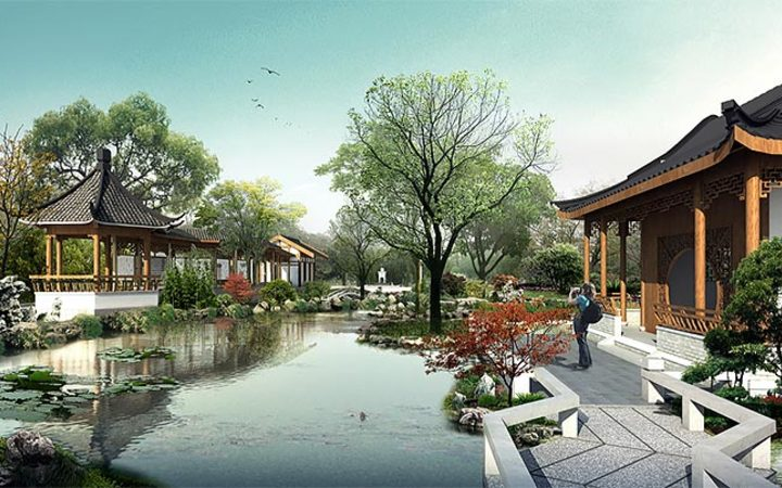 Invercargill proposed Chinese garden