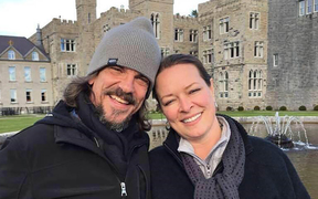 Kurt W. Cochran, left, who was killed in the London attack, and wife Melissa.