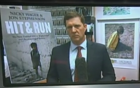 The launch of 'Hit and Run' leads the news  live on TVNZ 1.
