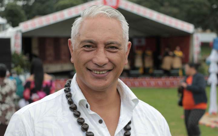 Minister of Pacific Peoples Alfred Ngaro