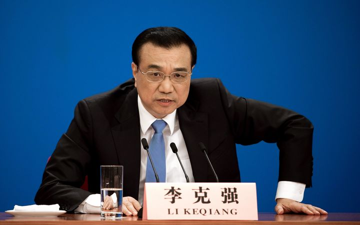 Chinese premier touches down in New Zealand