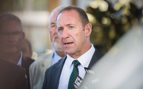 Andrew Little speaking at Waitangi, 5 February 2017.