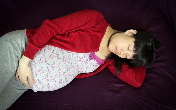 Sleeplessness in pregnancy