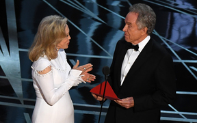 Faye Dunaway and Warren Beatty announced La La Land as the winner of the Best Picture Oscar before the mistake was uncovered.