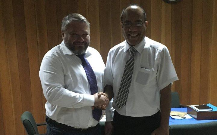 Bakov says no official Kiribati govt rejection yet