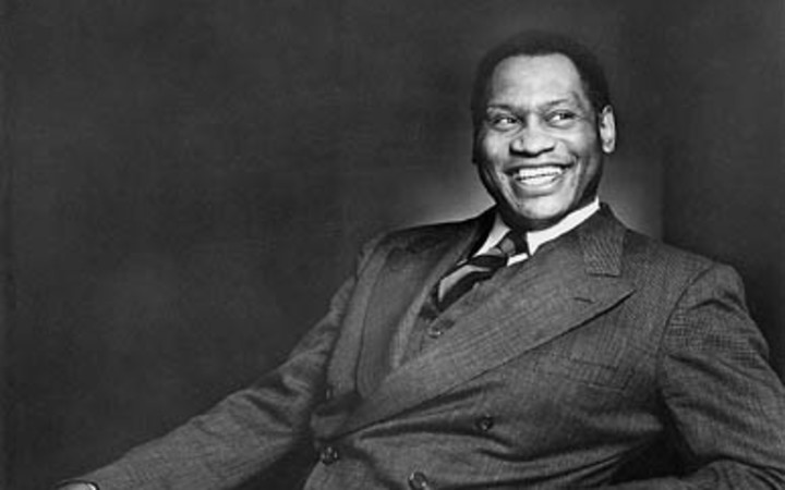 US singer and civil rights leader, Paul Robeson (1898 - 1976)