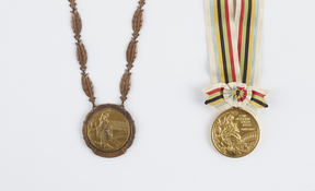 Peter Snell's gold medals from the Rome and Tokyo Olympics (1960 and 1964)