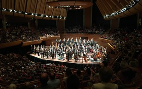 NZSO 70th birthday final bows