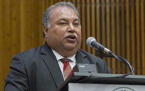 Baron Divavesi Waqa, President of the Republic of Nauru, addresses the United Nations high-level summit on large movements of refugees and migrants. sEP 2016