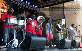 Hot 8 Brass Band at WOMAD 2017