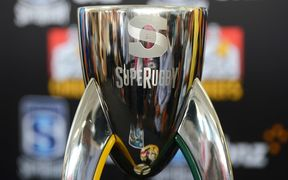 The Super Rugby Trophy.