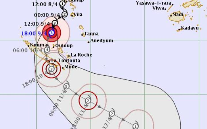 Cyclone Cook forecast to intensify to category 4