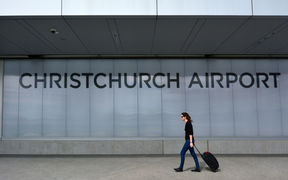 Christchurch Airport (file photo)