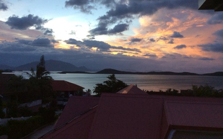 Noumea this morning after Cyclone Cook hit New Caledonia.