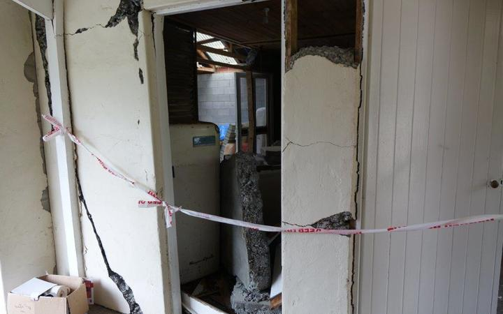 North Canterbury farmers Bob and Vicki Todhunter lost their 1902 villa in the November 2016 earthquake, when a fault ruptured beneath it.