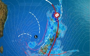 MetService is expecting Cyclone Cook to affect the country early on Thursday.
