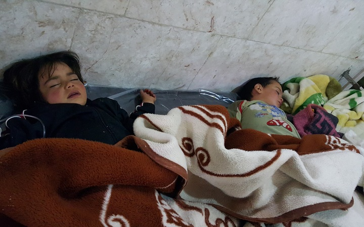 Russian Federation vetoes United Nations condemnation of Syria toxic gas attack