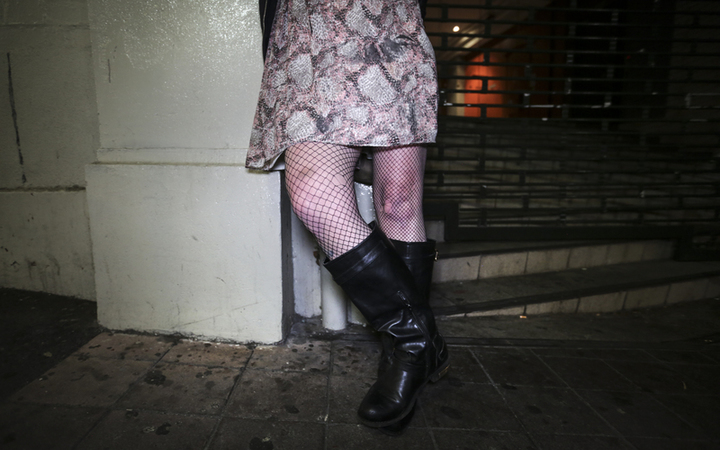 The Oldest Profession, a sex worker on Karangahape Road in Auckland