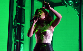 Lorde performed on day three of Coachella over the weekend.