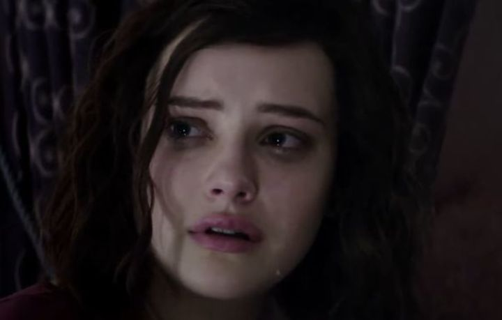Katherine Langford plays Hannah Baker in the show's trailer.
