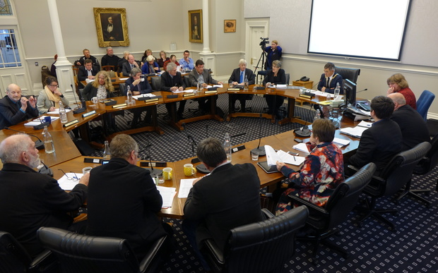 Dunedin City Council - pictured at a special meeting on 15 June 2015.