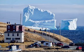 Ferryland mayor said the iceberg appeared to have grounded.