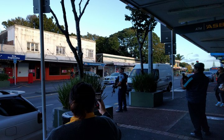 Police attend incident on Dominion Road, Mount Roskill