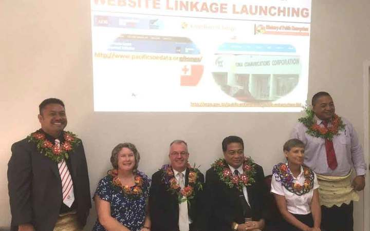 Launch of Tonga's updated MPE website.