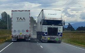 A St Arnaud mechanic and tow truck operator says his business has increased seven-fold as a result of vehicle damage on the alternative highway which is now dominated by heavy trucks.