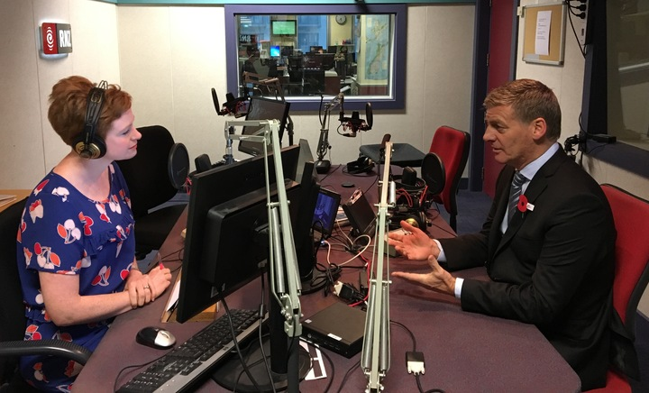 Prime Minister Bill English speaks to  Morning Report's Susie Ferguson.
