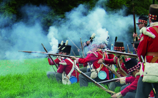 To mark 200 years since the Battle of Waterloo, 5000 re-enactors, 300 horses and 100 cannons will recreate the legendary battle in Belgium.