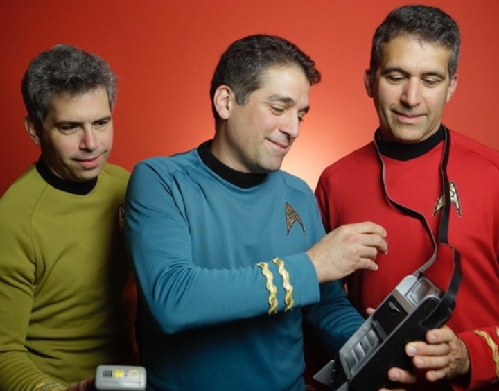 Brothers George, Basil, and Gus Harris of Final Frontier Medical Devices