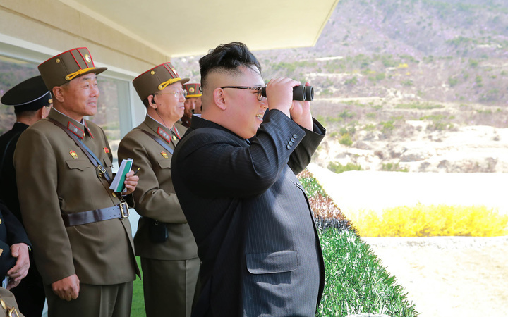 North Korea threatens strike on Guam