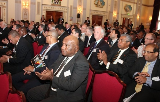 Audience at the inaugural United Kingdom - Papua New Guinea Trade and Investment Forum in London.