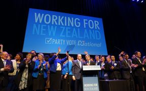 About 2500 party supporters attended the National Party campaign launch in Manukau.