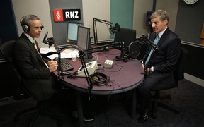Prime Minister Bill English speaking to Guyon Espiner on Morning Report, January 31 2017.